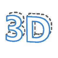 可编辑3D文字 / 3D Text Editor