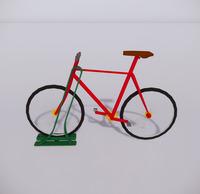 自行车停车架-16