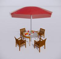 室外桌椅-32