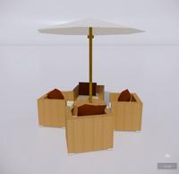 室外桌椅-37