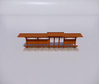 公交车站-新中式公交车站-3
