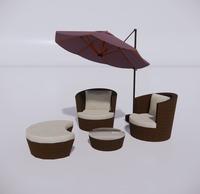 室外桌椅-45