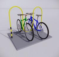 自行车停车架-4