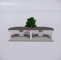 公交车站-现代公交车站-50