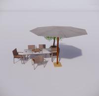 室外桌椅-59