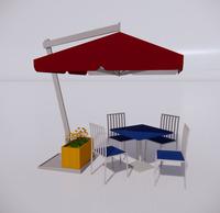 室外桌椅-70