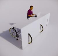 自行车停车架-71