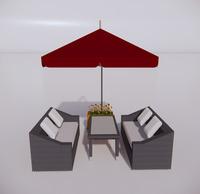 室外桌椅-72