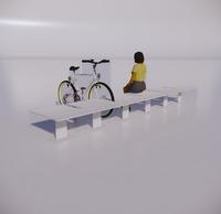 自行车停车架-72