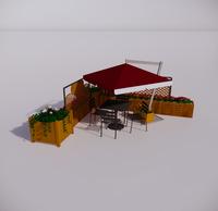 室外桌椅-73