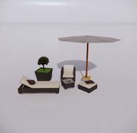 室外桌椅-74