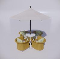 室外桌椅-75