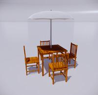 室外桌椅-76