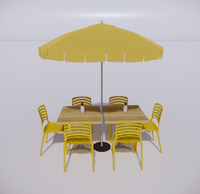室外桌椅-77
