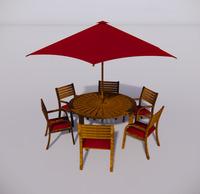室外桌椅-78