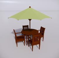 室外桌椅-79