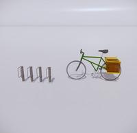 自行车停车架-7