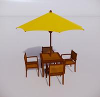 室外桌椅-81