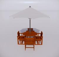 室外桌椅-82