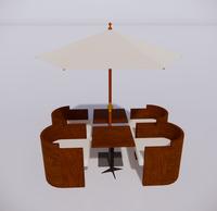 室外桌椅-88