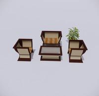 室外桌椅-89