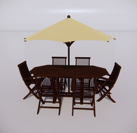 室外桌椅-90