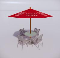 室外桌椅-91