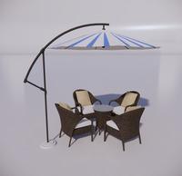 室外桌椅-93
