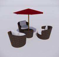 室外桌椅-94