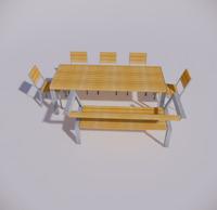 室外桌椅-96