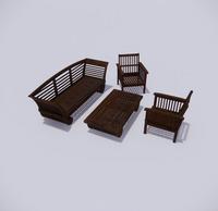 室外桌椅-98