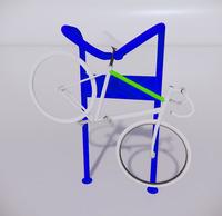 自行车停车架-9