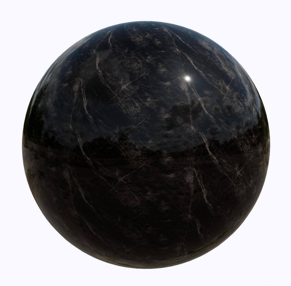 大理石-黑色系大理石_11516