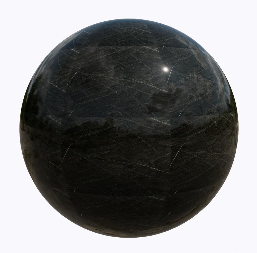 大理石-黑色系大理石_11517