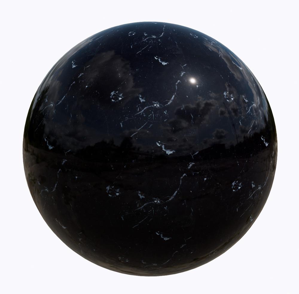 大理石-黑色系大理石_11520