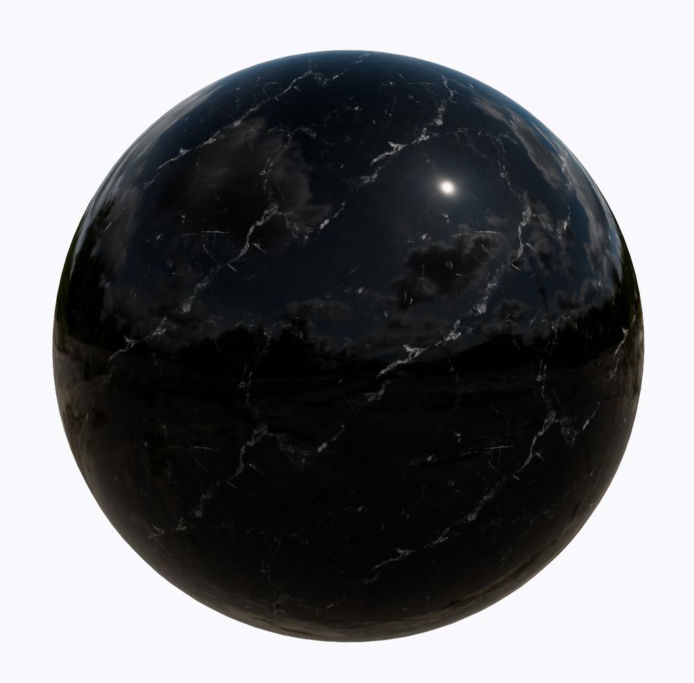 大理石-黑色系大理石_11521